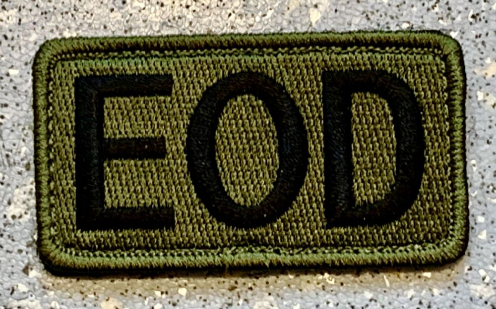 EOD Woven Patch (4 Inches Long)
